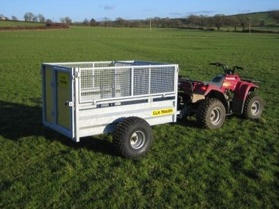 CLH Livestock Trailer - Mesh Drop Side image #1