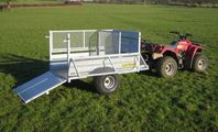 CLH Livestock Trailer - Mesh Drop Side image #2
