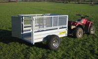 CLH Livestock Trailer - Mesh Drop Side image #3